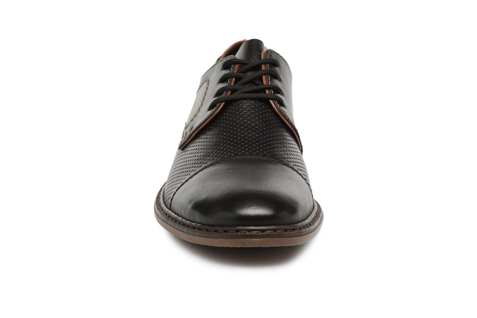 Lace-up shoes Rieker Urban 134B7 Black model view