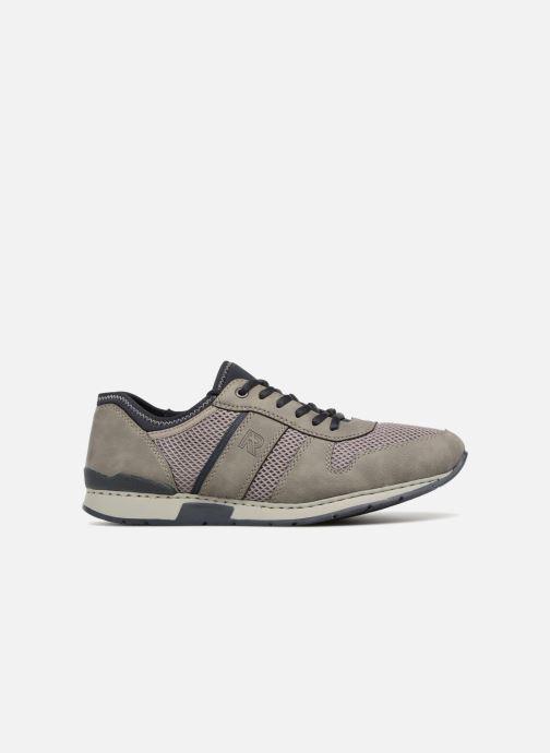 Sneakers Rieker Shae 19400 Grijs achterkant