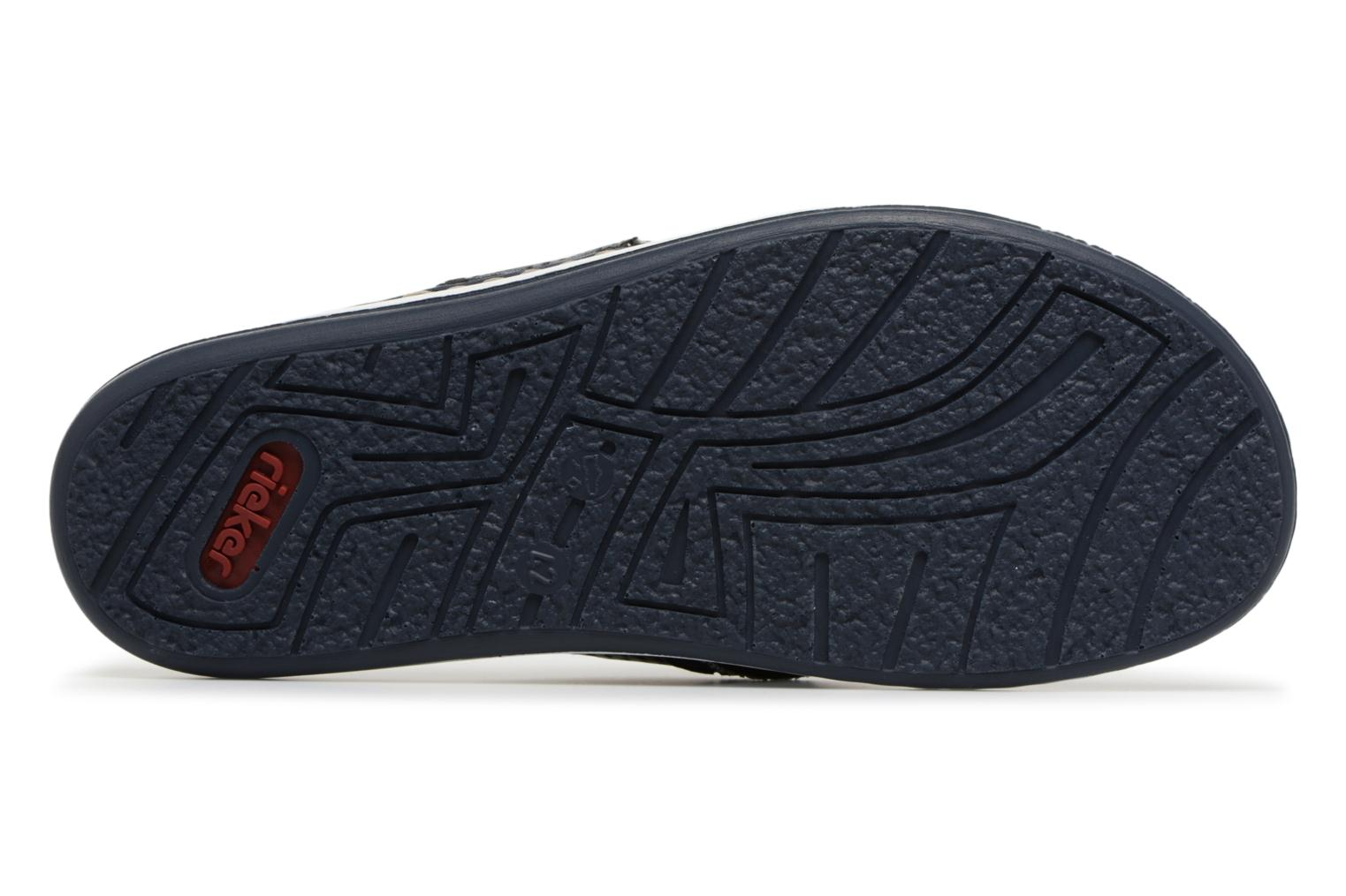 Flip flops Rieker Reed 21083 Blue view from above