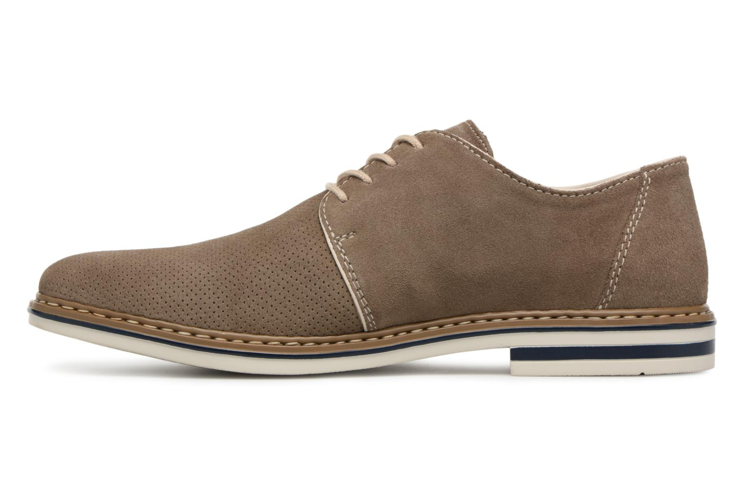 Lace-up shoes Rieker Newt B1435 Grey front view