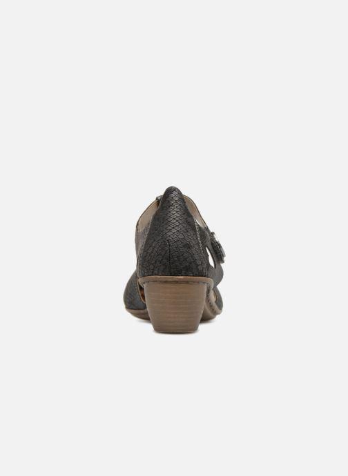 Escarpins Rieker Tiana 43750 Noir vue droite