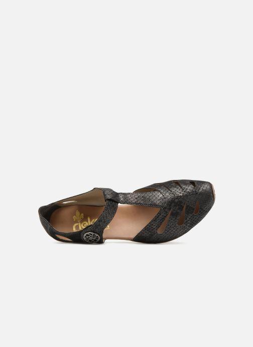 Escarpins Rieker Tiana 43750 Noir vue gauche