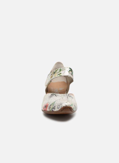 Escarpins Rieker Adela 43789 Multicolore vue portées chaussures