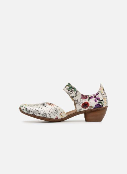 High heels Rieker Adela 43789 Multicolor front view
