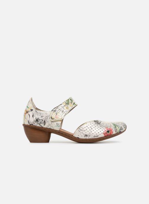 High heels Rieker Adela 43789 Multicolor back view