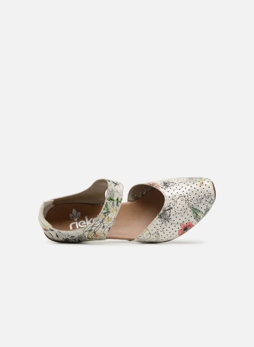 High heels Rieker Adela 43789 Multicolor view from the left