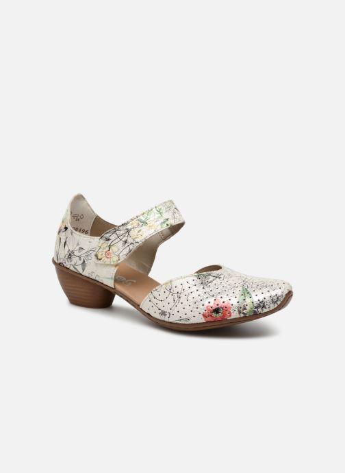 High heels Rieker Adela 43789 Multicolor detailed view/ Pair view