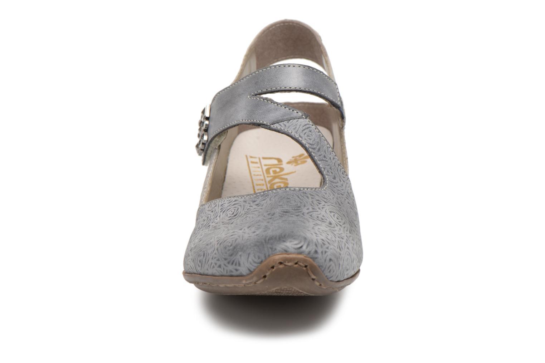 Escarpins Rieker Anaya 49770 Gris vue portées chaussures