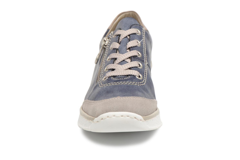 Baskets Rieker Bailee 53721 Bleu vue portées chaussures