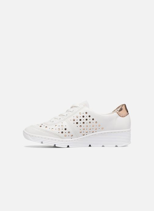 Trainers Rieker Carlee 58702 White front view