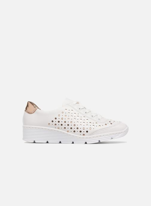 Trainers Rieker Carlee 58702 White back view