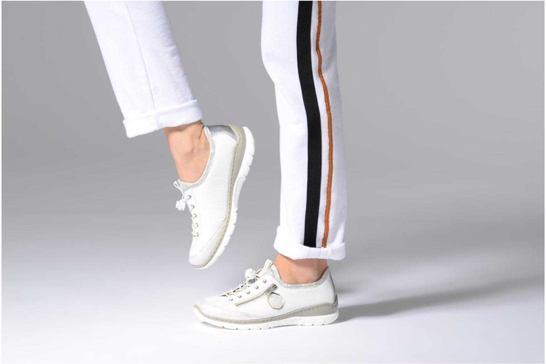 Sneakers Rieker Chaya L3263 Vit bild från under