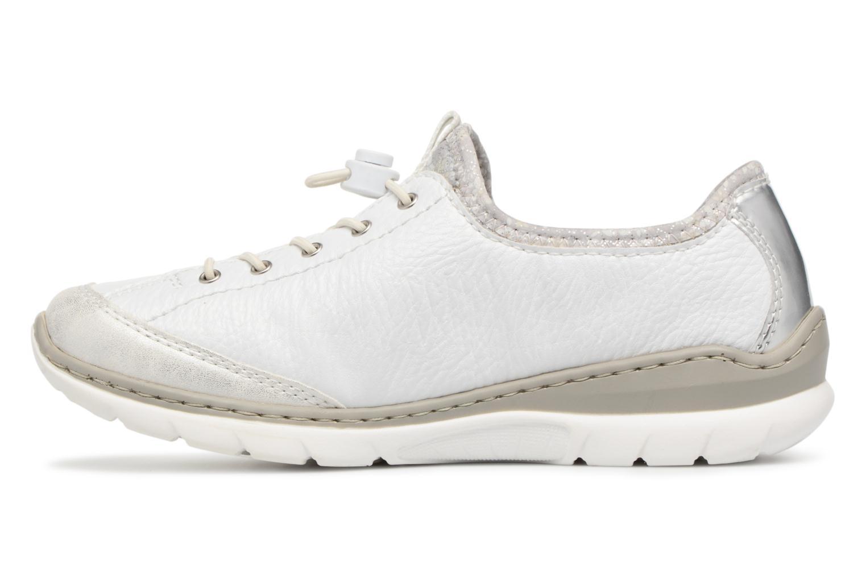 Sneakers Rieker Chaya L3263 Vit bild från framsidan