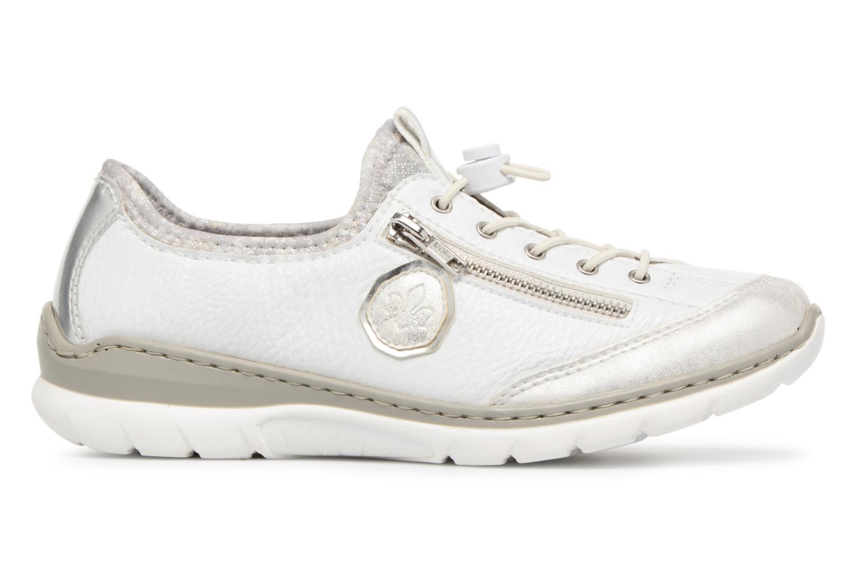 Sneakers Rieker Chaya L3263 Vit bild från baksidan