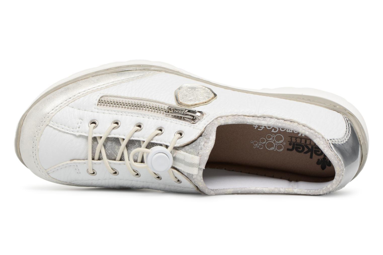 Sneakers Rieker Chaya L3263 Vit bild från vänster sidan