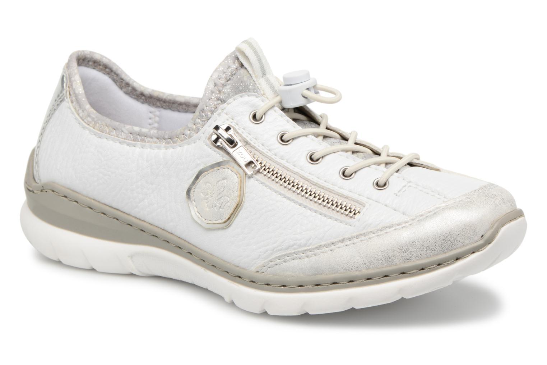 Sneakers Rieker Chaya L3263 Vit detaljerad bild på paret