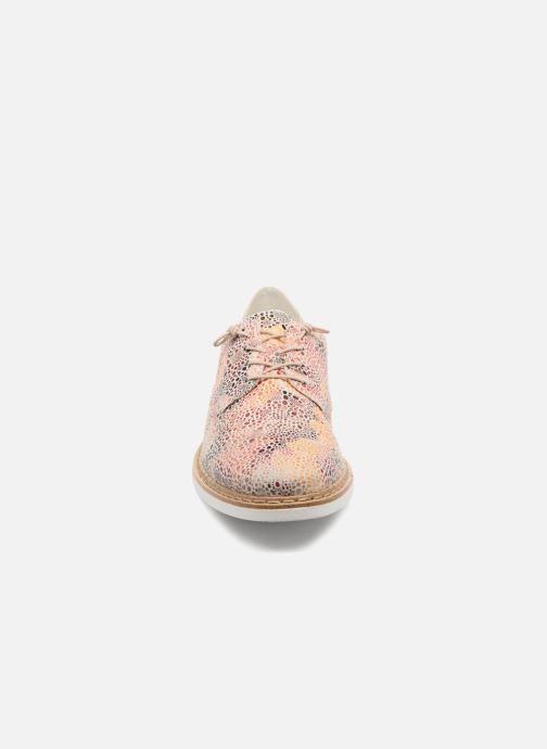 Chaussures à lacets Rieker Evana N0400 Multicolore vue portées chaussures