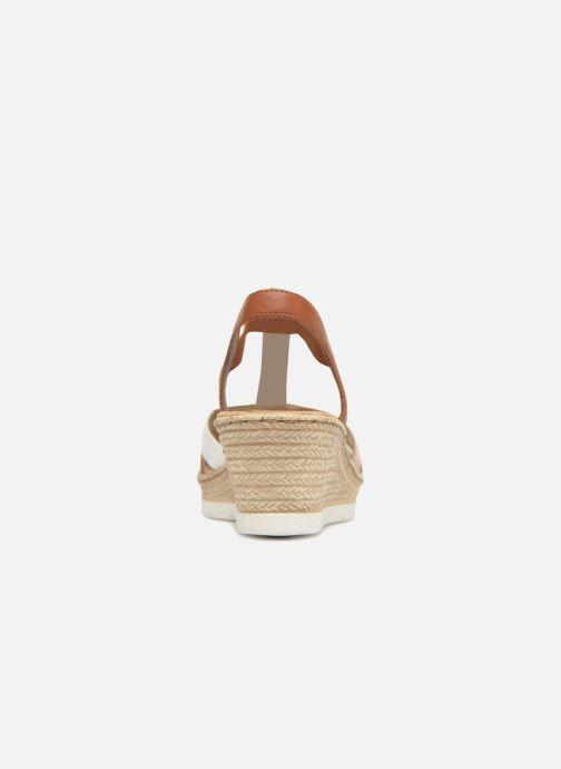 Sandales et nu-pieds Rieker Jasmyn 61995 Marron vue droite