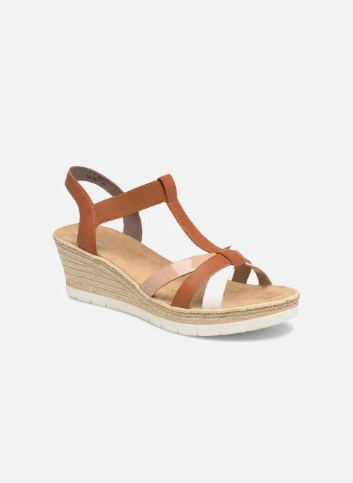 Sandales et nu-pieds Rieker Jasmyn 61995 Marron vue détail/paire