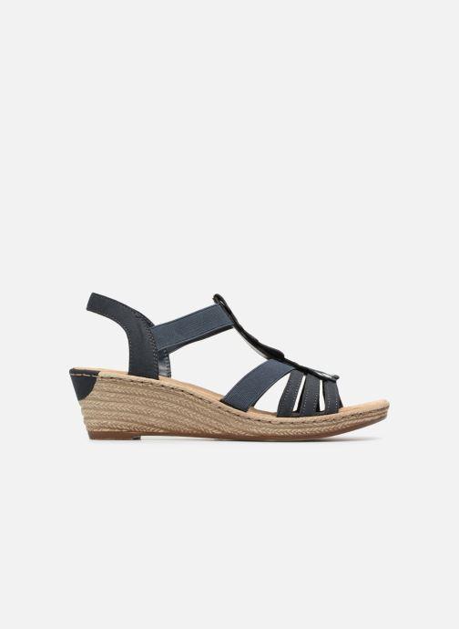 Sandales et nu-pieds Rieker Julissa Bleu vue derrière