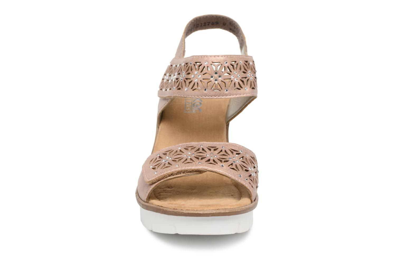Sandaler Rieker Litzie 65509 Rosa bild av skorna på