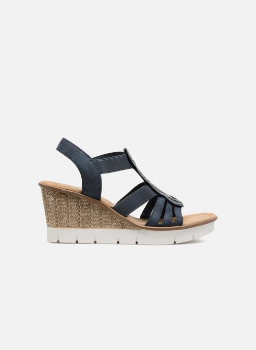 Sandales et nu-pieds Rieker Mariela 65515 Bleu vue derrière