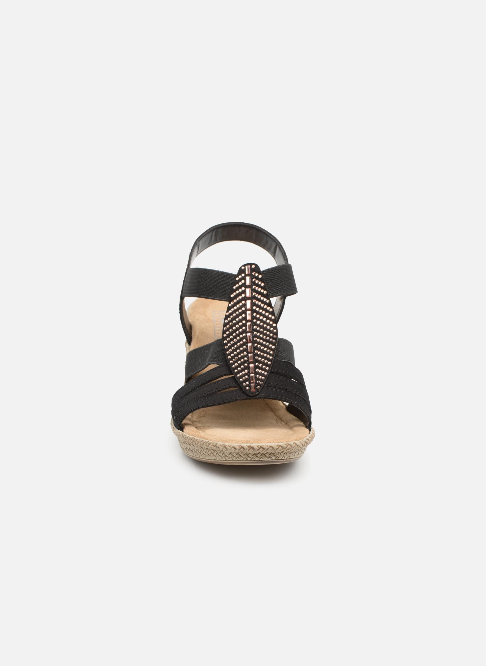 Sandaler Rieker Nayeli 66526 Sort se skoene på