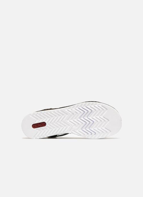 Sandales et nu-pieds Rieker Olivia 679L1 Noir vue haut