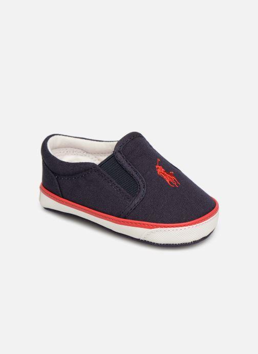 Hjemmesko Polo Ralph Lauren Bal Harbour II Layette Blå detaljeret billede af skoene