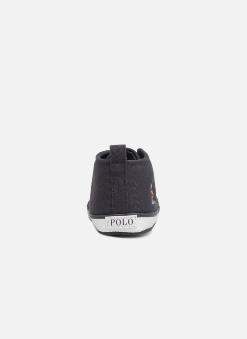 Slippers Polo Ralph Lauren Hamptyn Hi Layette Blue view from the right