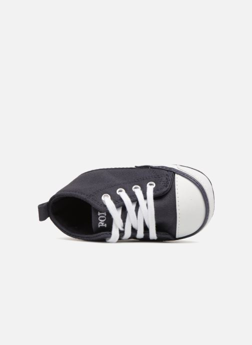 Pantoffels Polo Ralph Lauren Hamptyn Hi Layette Blauw links