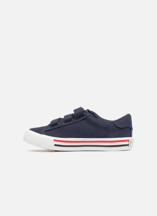 Sneakers Polo Ralph Lauren Easten EZ Azzurro immagine frontale