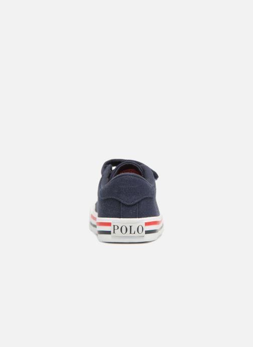 Sneakers Polo Ralph Lauren Easten EZ Azzurro immagine destra