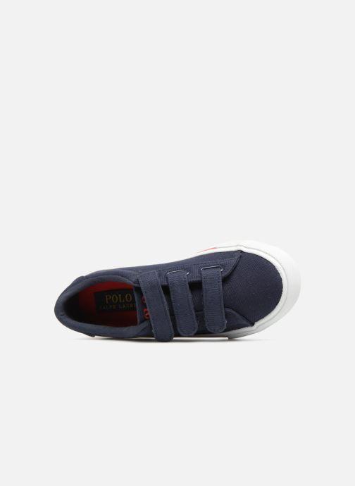 Sneakers Polo Ralph Lauren Easten EZ Azzurro immagine sinistra