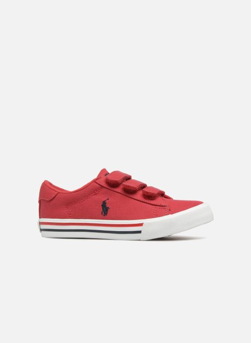 Baskets Polo Ralph Lauren Easten EZ Rouge vue derrière