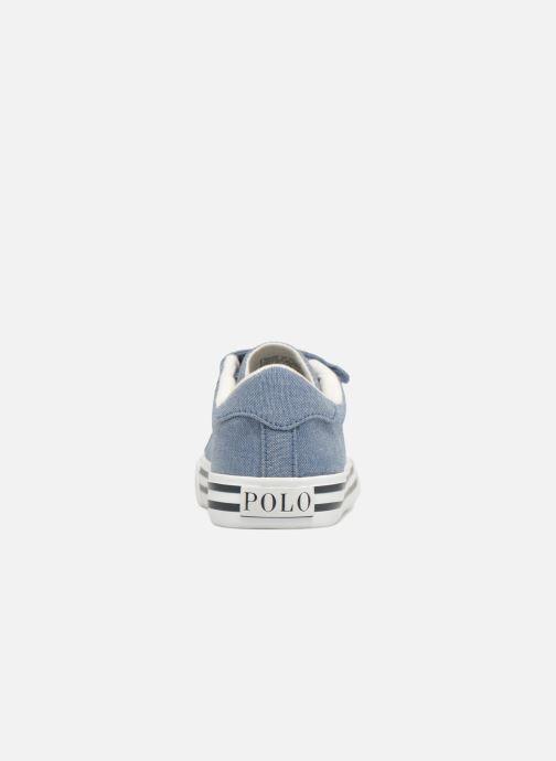 Sneaker Polo Ralph Lauren Easten EZ blau ansicht von rechts