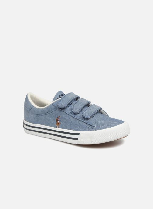 Baskets Polo Ralph Lauren Easten EZ Bleu vue détail/paire