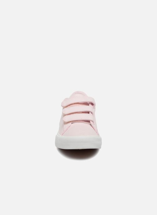 Sneakers Polo Ralph Lauren Easten EZ Rosa modello indossato