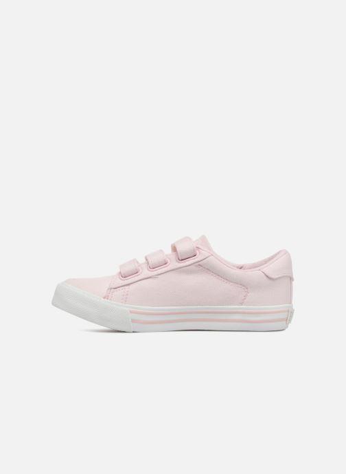 Sneakers Polo Ralph Lauren Easten EZ Roze voorkant