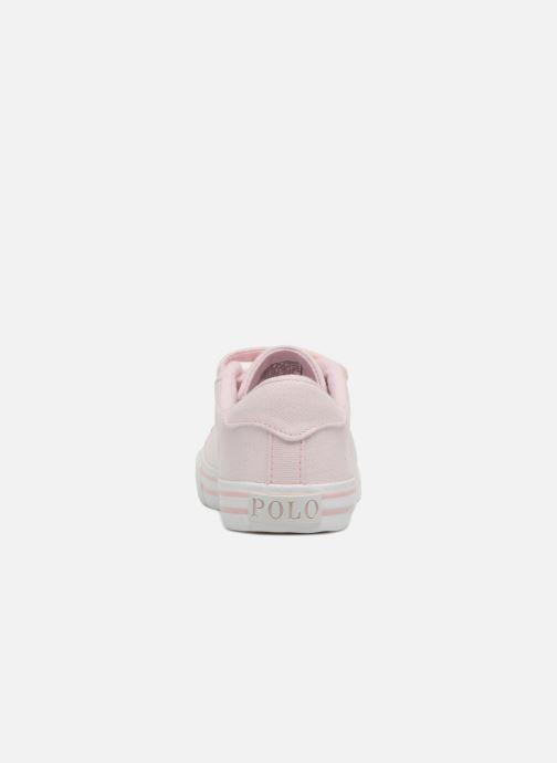 Sneakers Polo Ralph Lauren Easten EZ Roze rechts