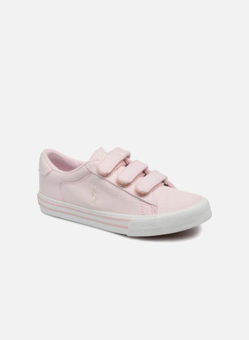 Sneakers Polo Ralph Lauren Easten EZ Roze detail