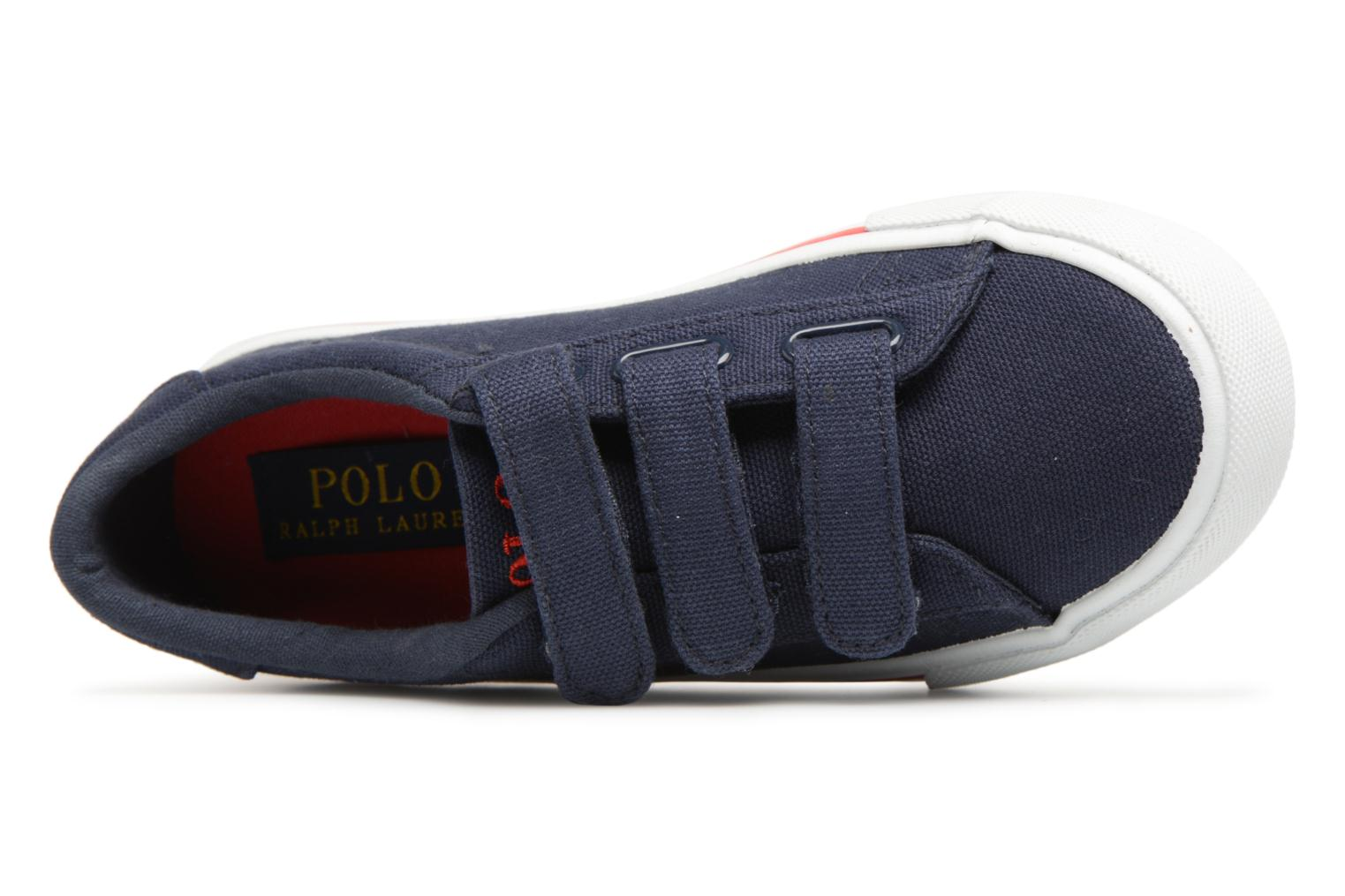 Trainers Polo Ralph Lauren Easten EZ Blue view from the left