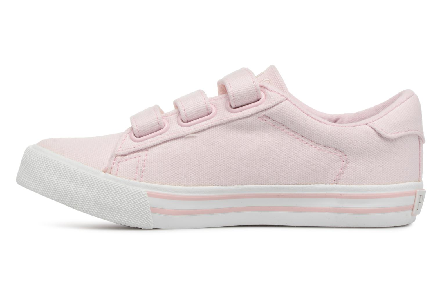 Baskets Polo Ralph Lauren Easten EZ Rose vue face
