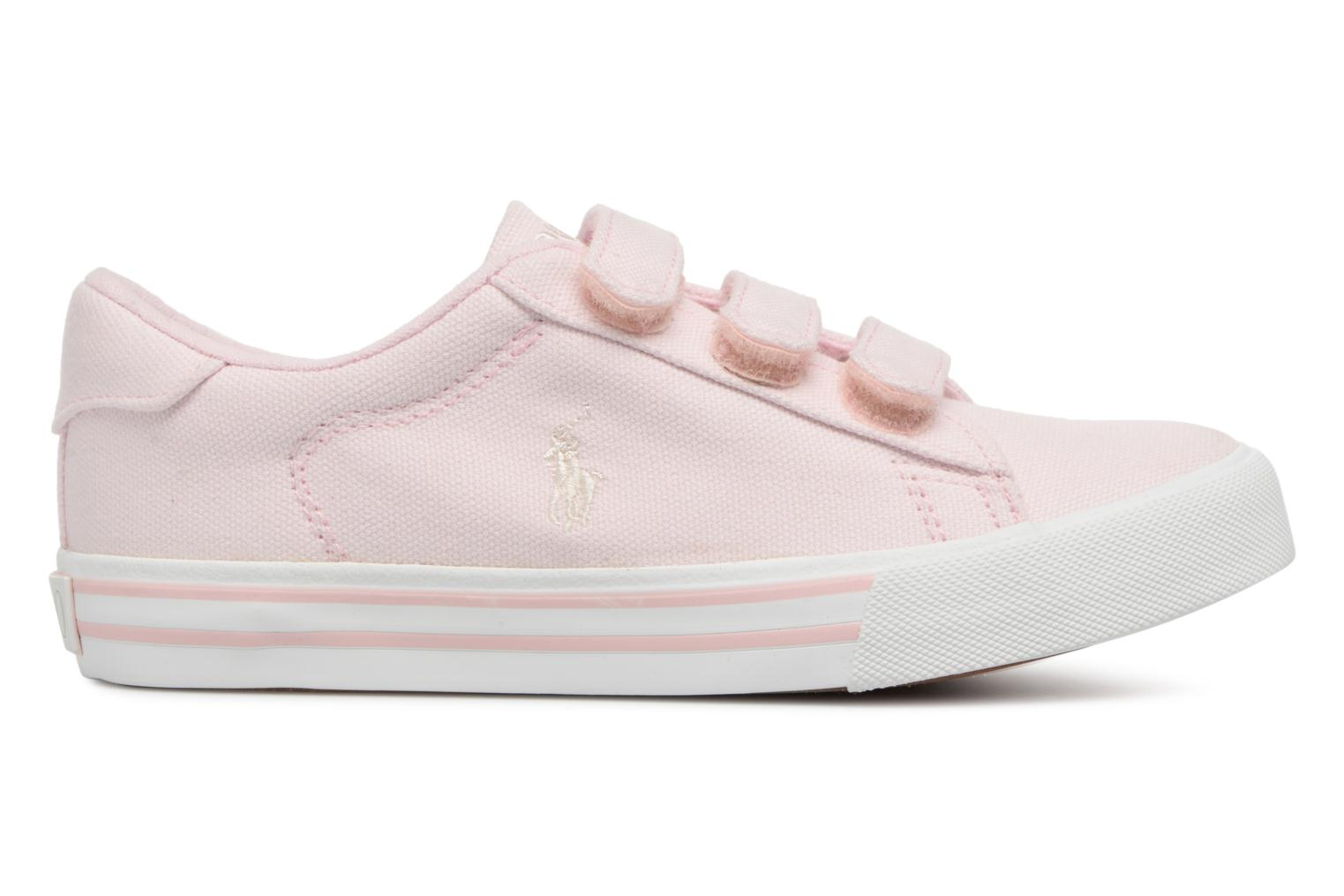 Baskets Polo Ralph Lauren Easten EZ Rose vue derrière