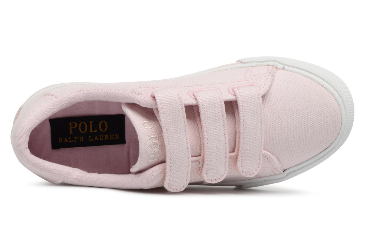 Baskets Polo Ralph Lauren Easten EZ Rose vue gauche