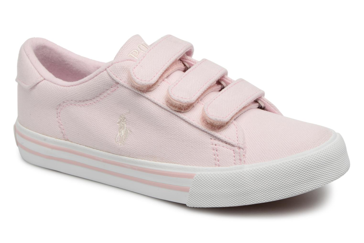 Baskets Polo Ralph Lauren Easten EZ Rose vue détail/paire