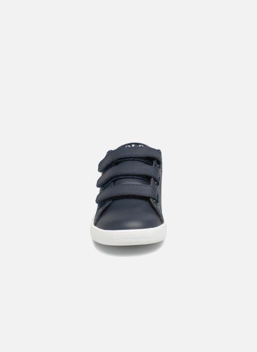 Baskets Polo Ralph Lauren Quilton EZ Bleu vue portées chaussures