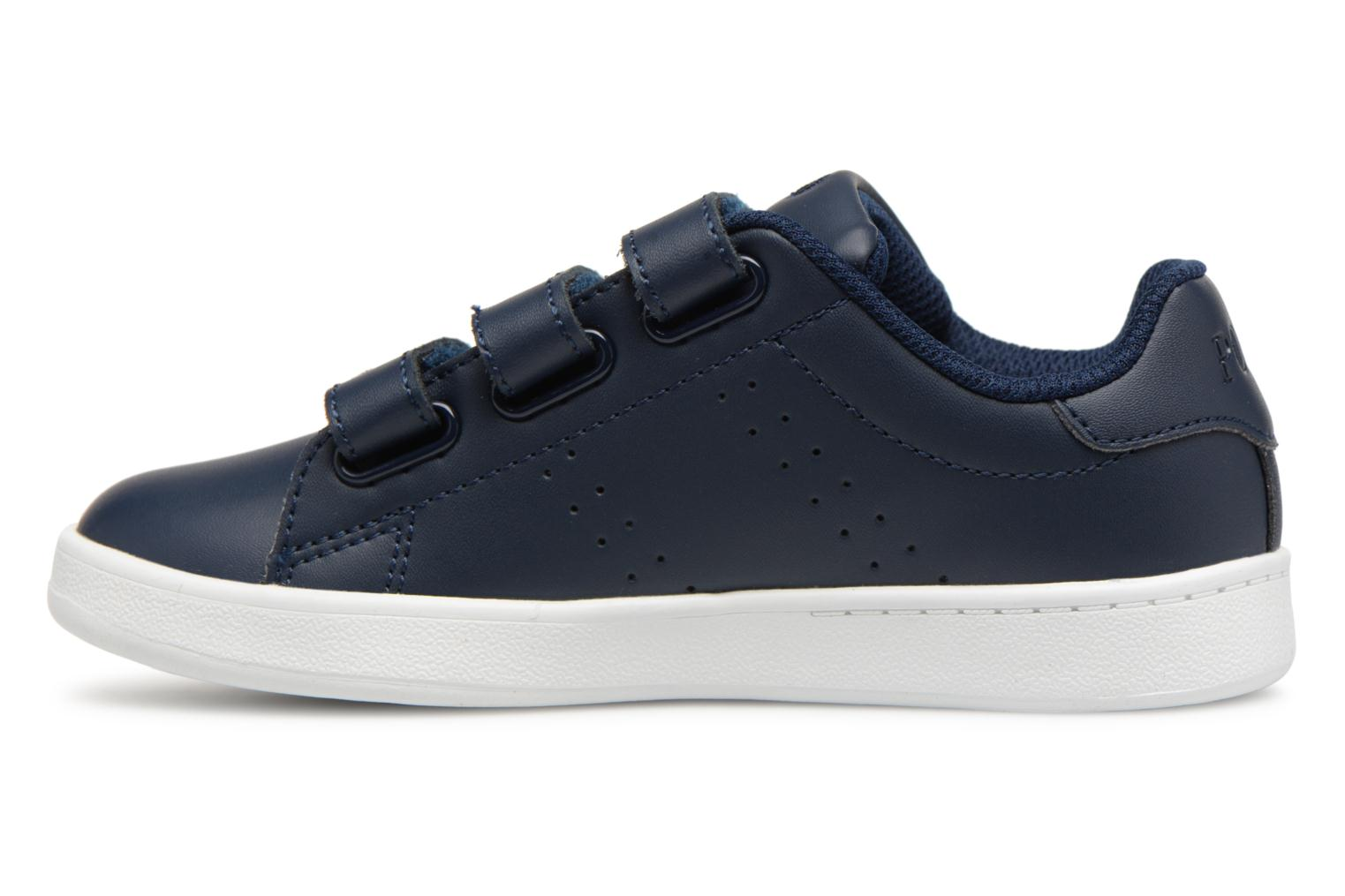 Baskets Polo Ralph Lauren Quilton EZ Bleu vue face