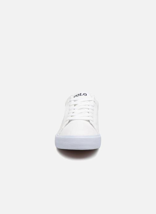 Baskets Polo Ralph Lauren Easten Blanc vue portées chaussures
