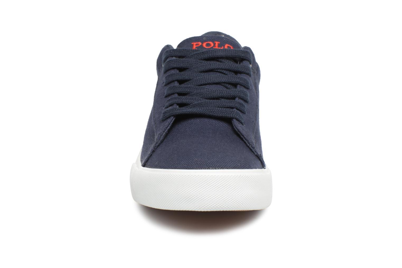 Baskets Polo Ralph Lauren Easten Bleu vue portées chaussures